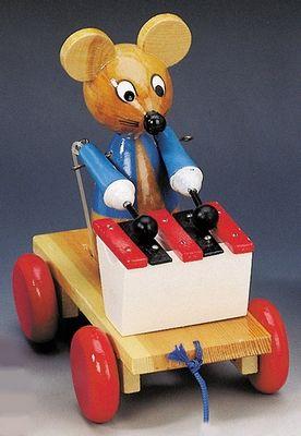 Bino Tahací myš s xylofonem 80035 cena od 299 Kč