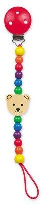 Šnůra na dudlík - medvěd - Pippa cena od 104 Kč