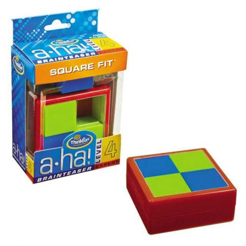 XXL obrazek ThinkFun Aha! Square Fit 4711