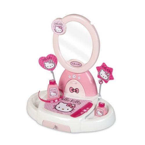 Smoby Toaletní stolek Hello Kitty s příslušenstvím 024113 cena od 645 Kč