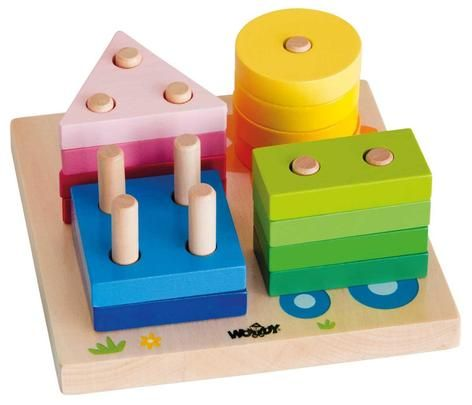 Woody Základní tvary na desce s obrázky 91144 cena od 269 Kč