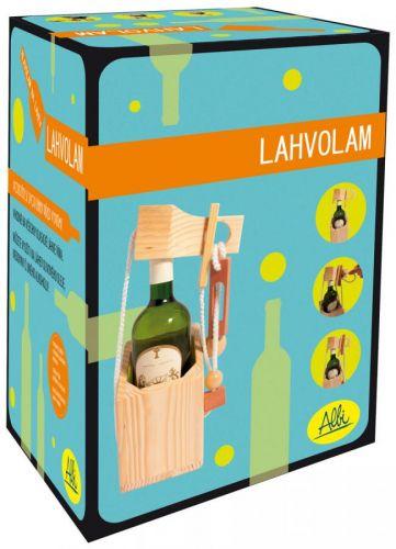 Albi: Lahvolam The Grape Escape - dřevěný hlavolam na láhev s písmenným kódem cena od 295 Kč