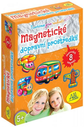 Albi: Sádrové magnety dopravní prostředky cena od 84 Kč