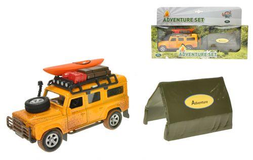 MIKRO hračky Auto Land Rover Defender 521724 cena od 177 Kč