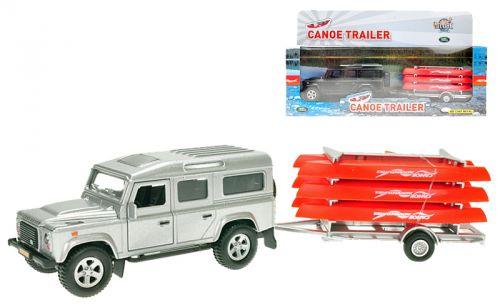 MIKRO hračky Auto Landrover Defender 521713 cena od 204 Kč