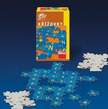 Křížovky - cestovní hra cena od 84 Kč