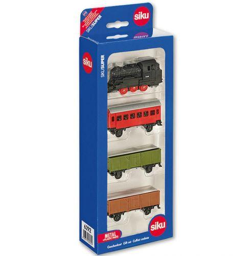 SIKU Super Sada vlak + 3 vagóny cena od 329 Kč