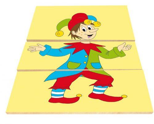 Woody Puzzle Pohádkové postavy 91141 cena od 131 Kč