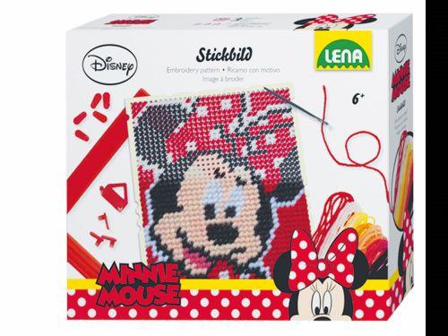 LENA Disney vyšívací obrázek Minnie 1 42605 cena od 104 Kč