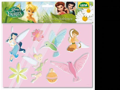 LENA Disney kreslící šablony víly 65812 cena od 61 Kč