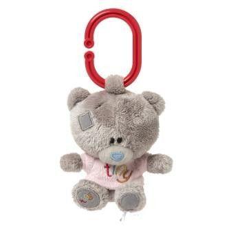 Me to you Tiny Tatty Teddy Medvídek pískátko v růžovém tričku 10 cm cena od 208 Kč