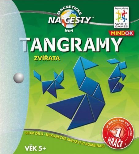 Mindok: SMART: Tangramy ZVÍŘATA cena od 229 Kč