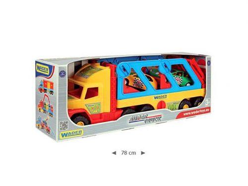 Wader Super Truck s auty Sport 36640 cena od 494 Kč