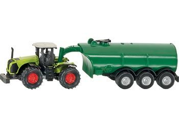SIKU Traktor Claas Xerion s cisternou 1666 cena od 151 Kč