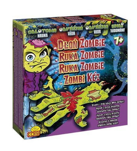 COBI Odvážná věda Ruka zombie 09756