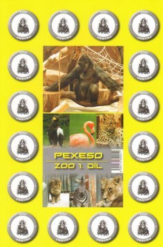 Teddies Pexeso ZOO 10402001