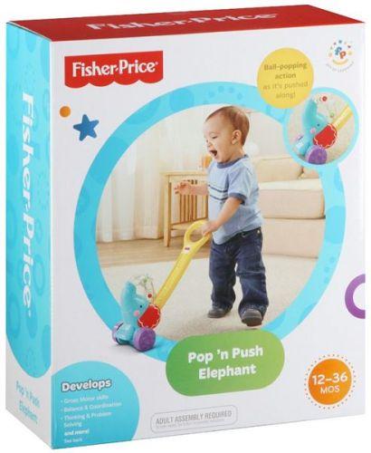 Fisher Price Jezdící slon s míčky Y8651 cena od 289 Kč