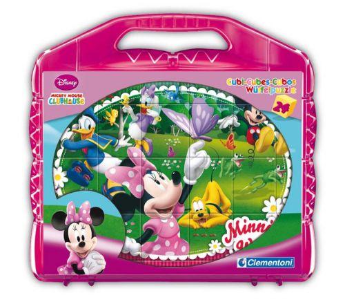 Clementoni Kostky Kufřík Mickey Mouse 42416
