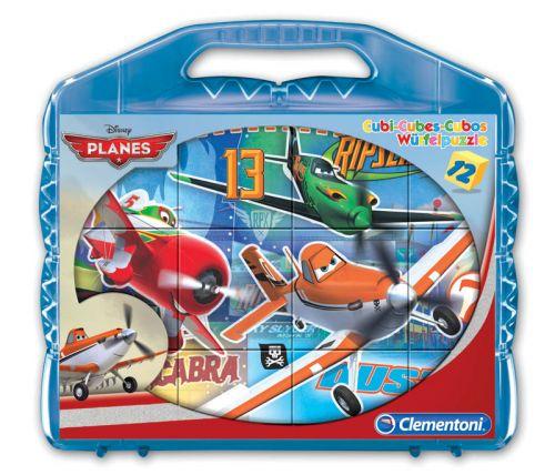 Clementoni Kostky Kufřík Letadla 41172 cena od 199 Kč