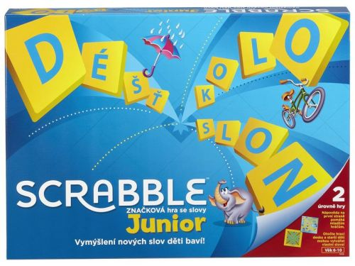Mattel Hry: Scrabble Junior cena od 516 Kč