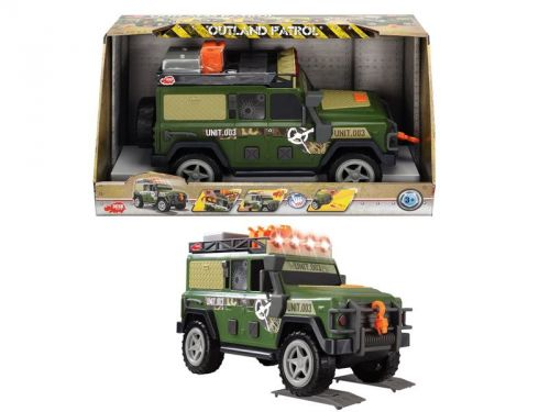 Dickie D 3308366 Outland Patrol vojenský 34 cm cena od 539 Kč