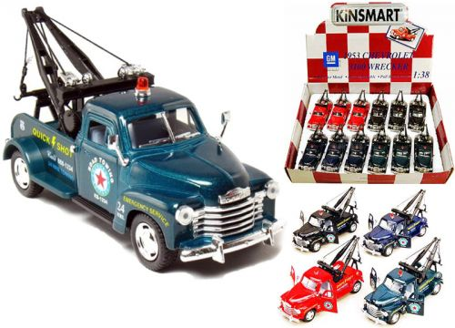 HM Studio 18HM5033 1953 Chevrolet 3100 Wrecker