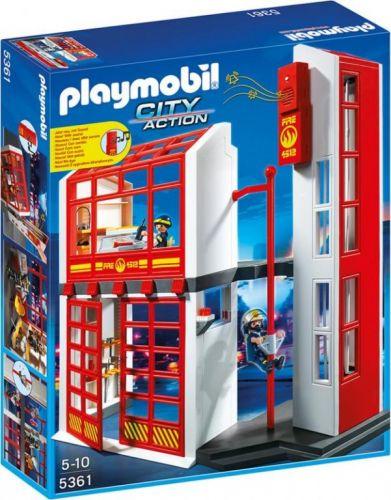 Playmobil 5361 Hasičská stanice s alarmem