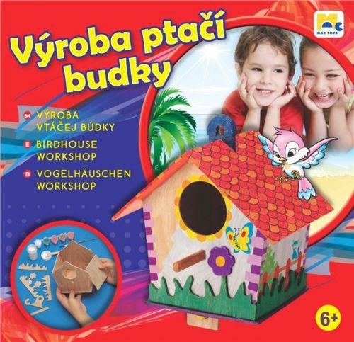 Mac Toys Výroba ptačí budky cena od 249 Kč