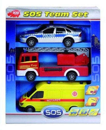 Dickie S.O.S. Team Set cena od 249 Kč