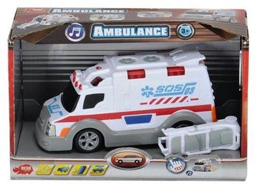 Dickie Ambulance se světlem a zvuky cena od 199 Kč