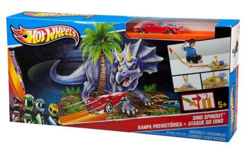 MATTEL Hot Wheels Dino Spinout