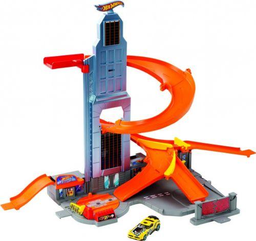 Mattel Hot Wheels SET S MRAKODRAPEM cena od 0 Kč