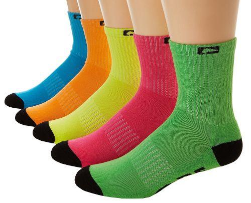 Globe Fluro Crew 5 Pack ponožky