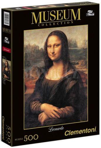 Clementoni Museum Mona Lisa 500 dílků