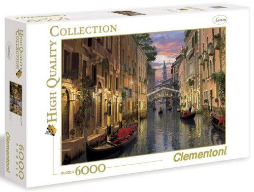 Clementoni Benátky 6000 dílků