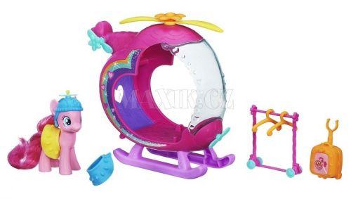 My Little Pony Rainbow Pinkie Pie s helikoptérou cena od 368 Kč