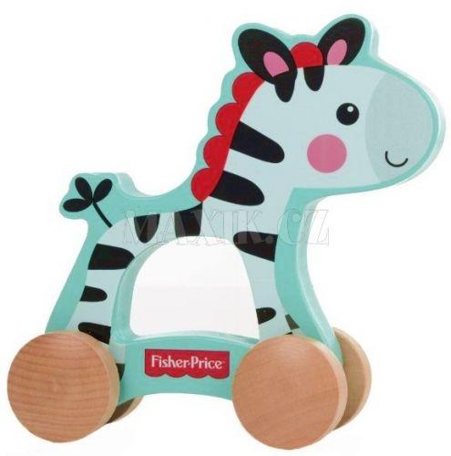 Fisher Price Moje první zebra na kolečkách cena od 189 Kč