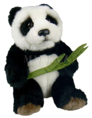 Lamps Plyšová panda s listem 16 cm cena od 169 Kč