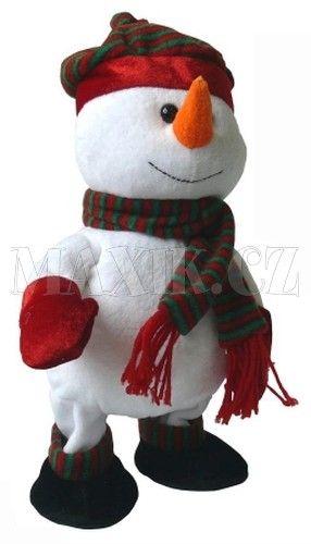 Made Sněhulák chodí, tancuje 30 cm cena od 349 Kč
