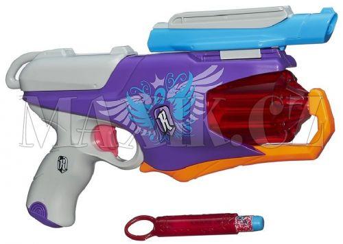 NERF Rebelle špiónská pistole se světlem a šifrováním cena od 474 Kč