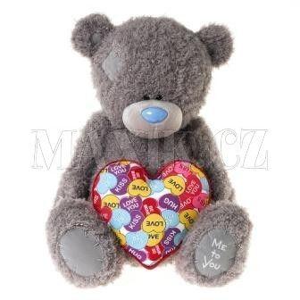 Me To You Medvídek se srdcem 44 cm cena od 2159 Kč
