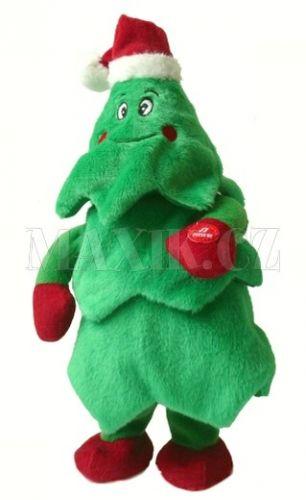 MaDe Vánoční stromeček zpívající tancující 31 cm cena od 379 Kč