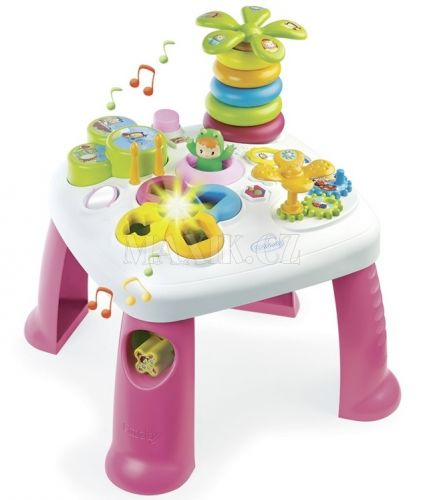 Smoby Cotoons Multifunkční hrací stůl cena od 998 Kč
