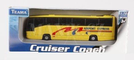 Alltoys Autobus 1:70 cena od 79 Kč