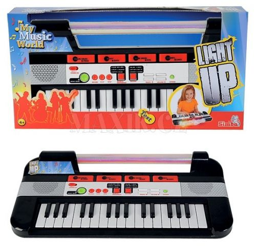 Simba Light up klávesy cena od 0 Kč