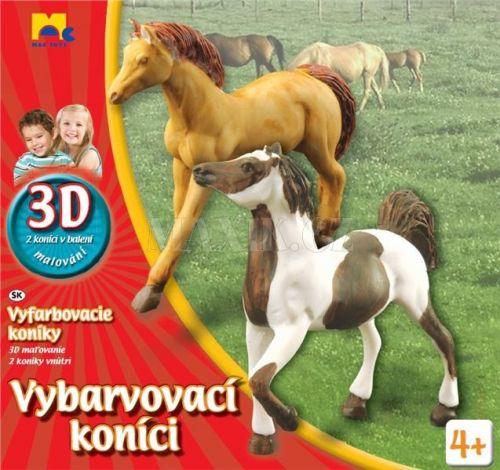 Mac Toys Malování koní 3D cena od 0 Kč