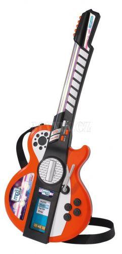 Simba Elektronická kytara MP3 se světly
