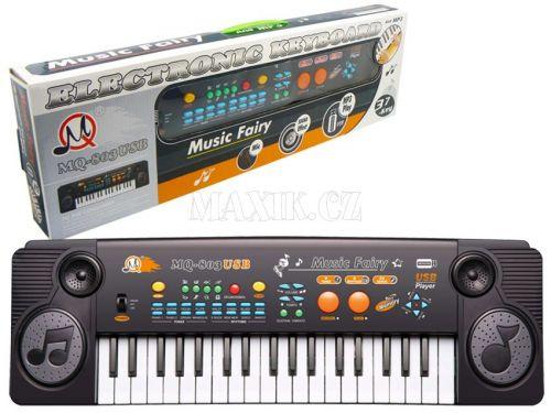 HM Studio Elektronické klávesy 37 kláves cena od 0 Kč
