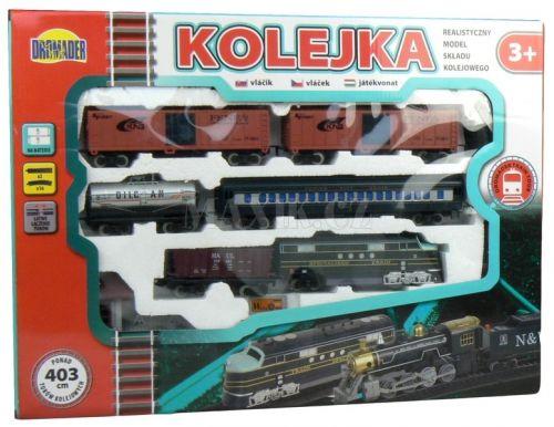 Dromader Vlak s 5 vagónky a doplňky