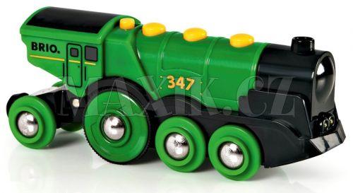 Brio Mohutná elektrická lokomotiva se světly